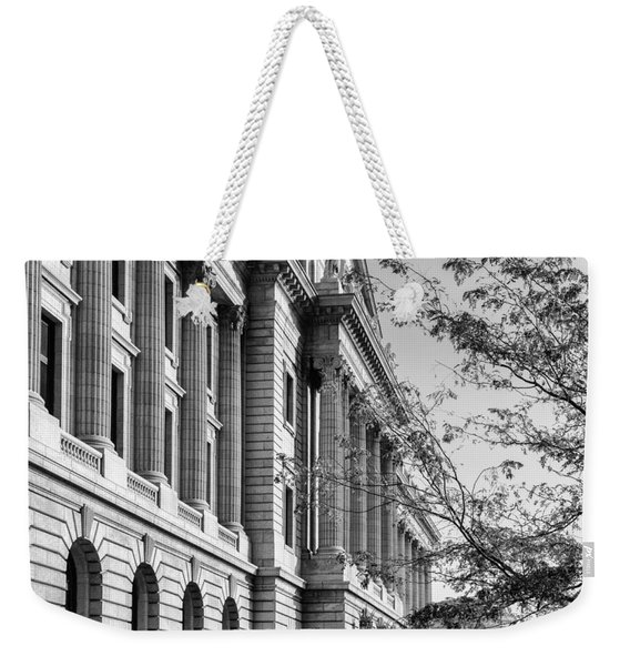 Cuyahoga County Court House Weekender Tote Bag