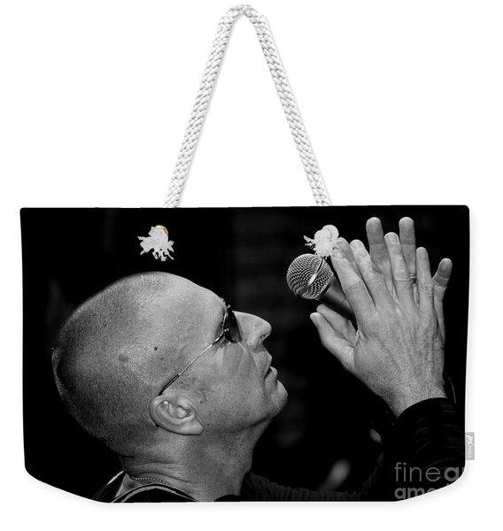 Cy Curnin The Fixx By Diana Sainz Weekender Tote Bag