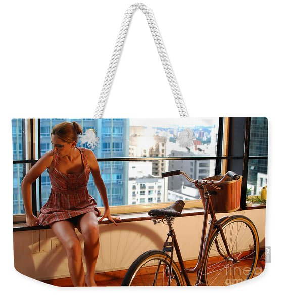 Cycle Introspection Weekender Tote Bag