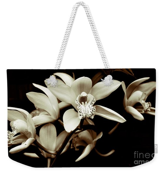 Cymbidium Orchids Weekender Tote Bag