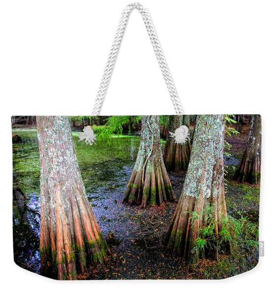Cypress Waltz Weekender Tote Bag