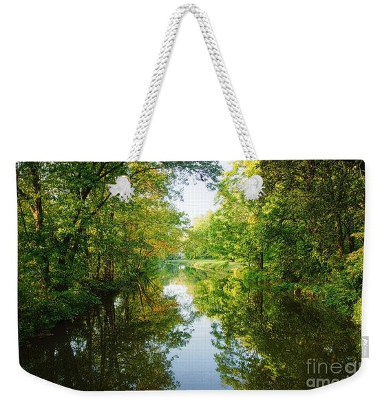 D And R Canal  Weekender Tote Bag