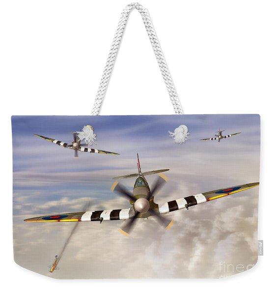 D-day Spitfires Weekender Tote Bag