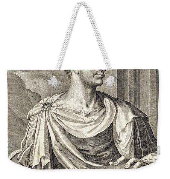 D. Octavius Augustus Emperor Of Rome 27 Weekender Tote Bag
