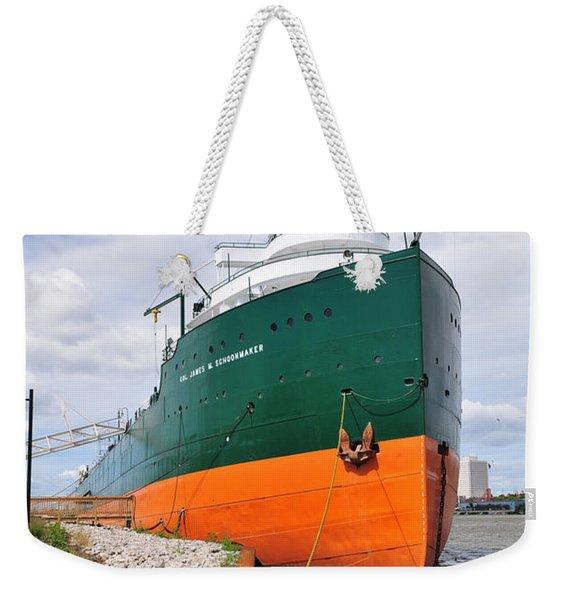 D12u763 Ss Col James M Schoonmaker Weekender Tote Bag