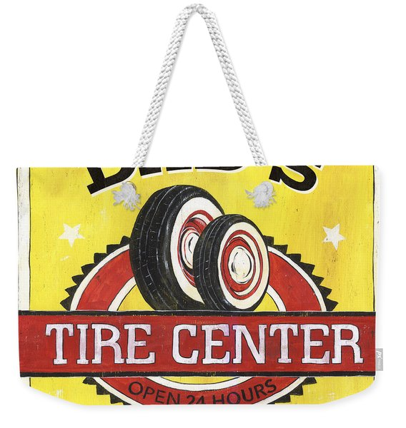 Dad's Tire Center Weekender Tote Bag