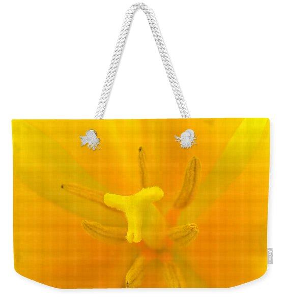Daffodil Center Weekender Tote Bag