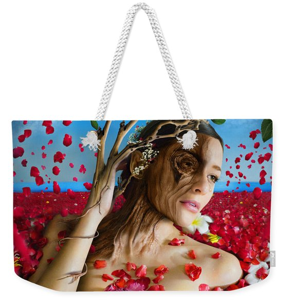 Dafne   Hit In The Physical But Hurt The Soul Weekender Tote Bag