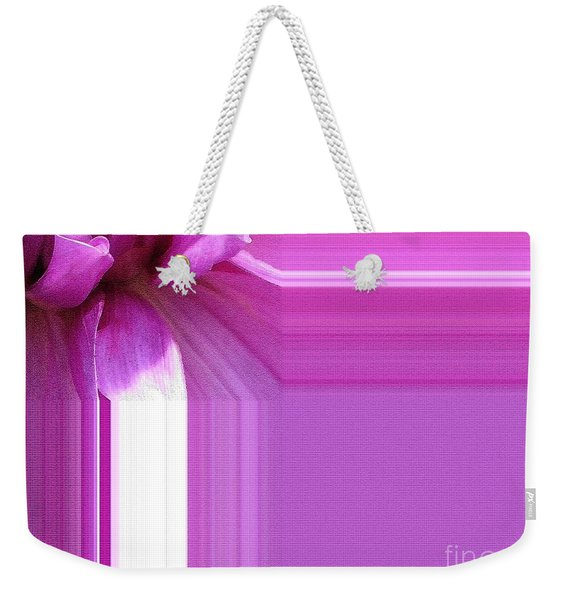Dahlia Named Lilac Time Weekender Tote Bag