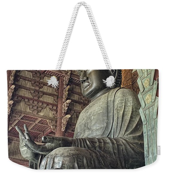 Daibutsu Buddha Of Todai-ji Temple Weekender Tote Bag