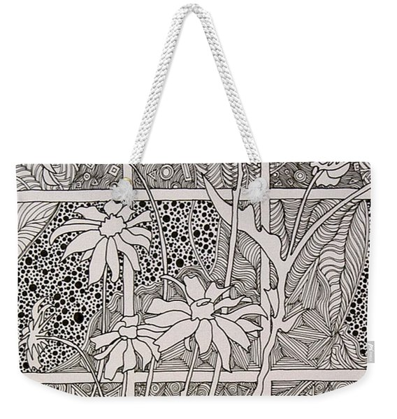 Daisies In A Window Weekender Tote Bag