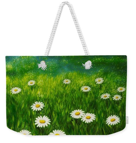 Daisy Meadow Weekender Tote Bag
