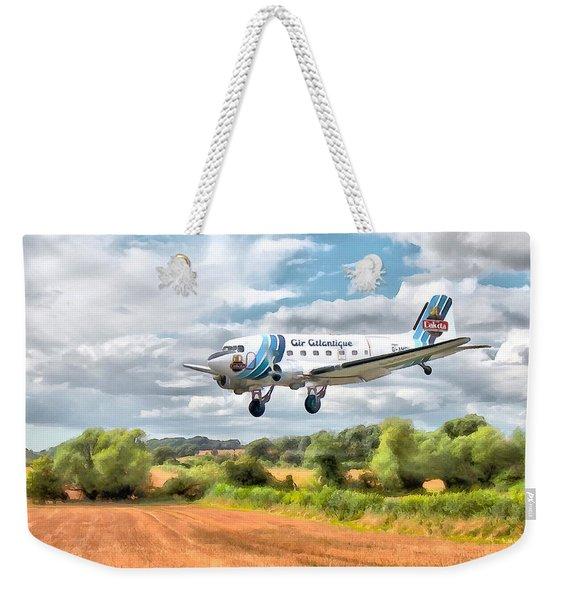 Dakota - Cleared To Land Weekender Tote Bag