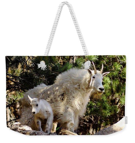 Dakota Mountain Goats Weekender Tote Bag