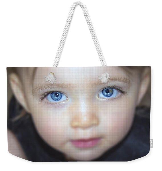 Dakota's Eyes Weekender Tote Bag