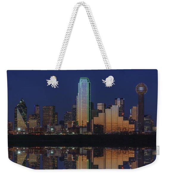 Dallas Aglow Weekender Tote Bag