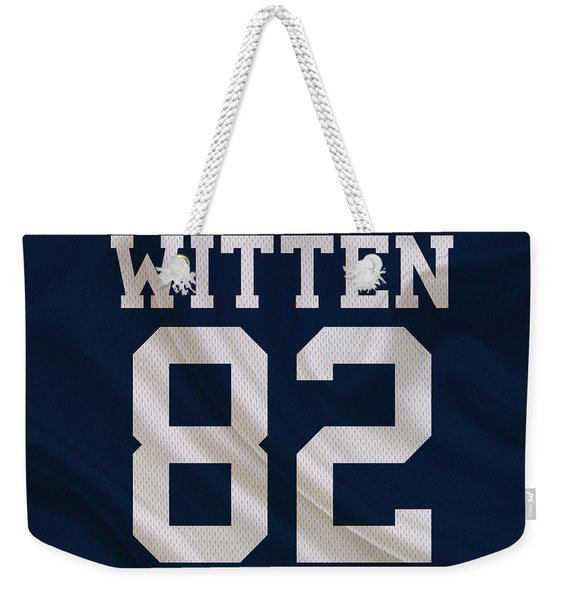 Dallas Cowboys Jason Witten Weekender Tote Bag