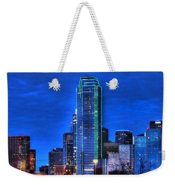 Dallas Skyline Hd Weekender Tote Bag