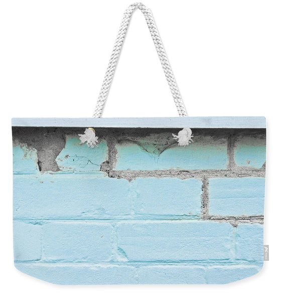 Damaged Brickwork Weekender Tote Bag