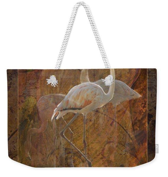 Dance Of The Flamingos Weekender Tote Bag