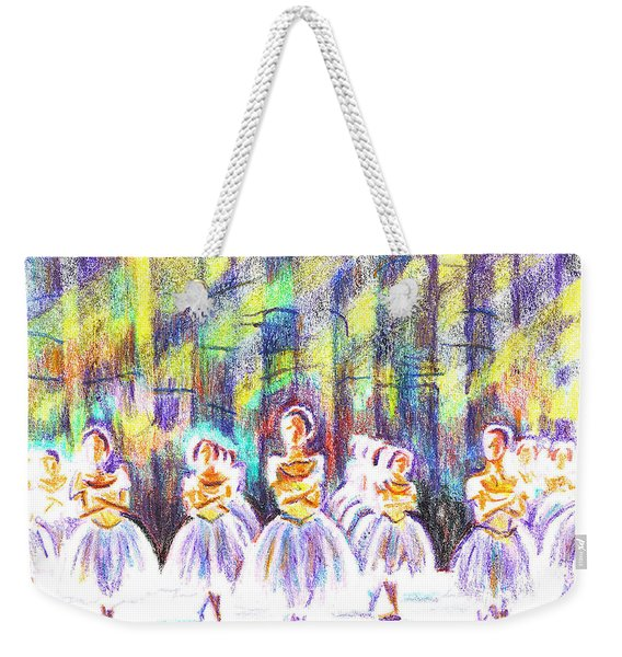 Dancers In The Forest Weekender Tote Bag