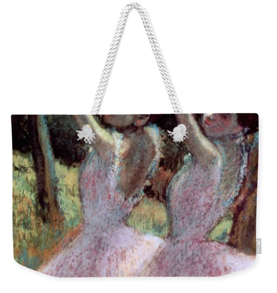 Dancers In Violet Dresses Weekender Tote Bag