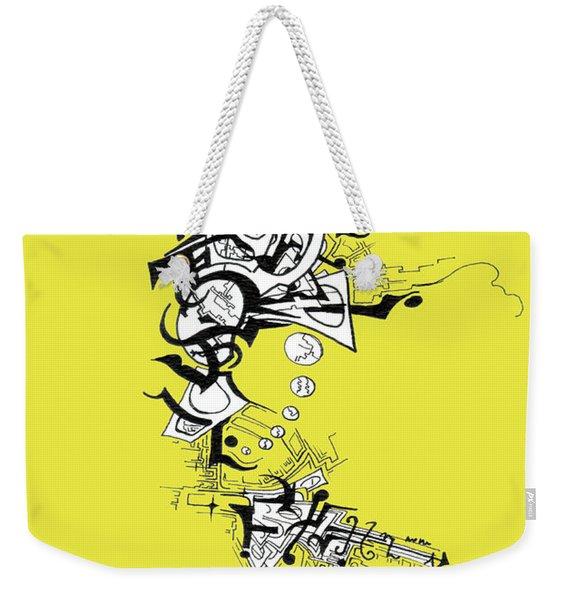 Dancing Angel Weekender Tote Bag