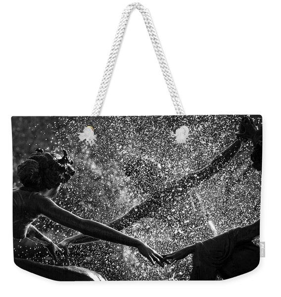 Dancing Girls Of Central Park Weekender Tote Bag