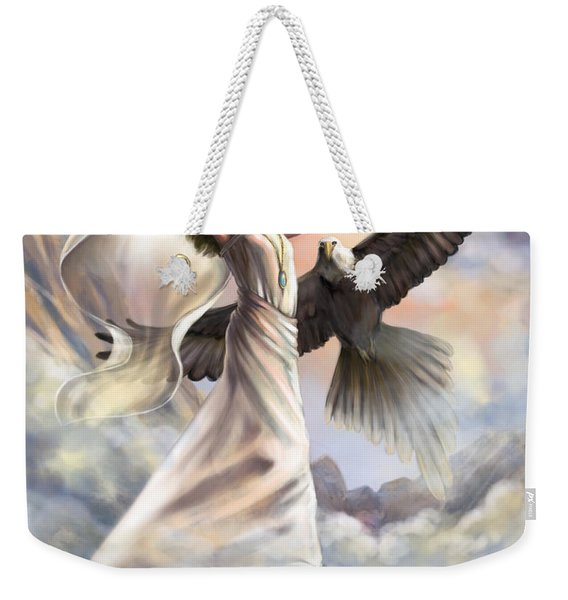 Dancing In Glory Weekender Tote Bag