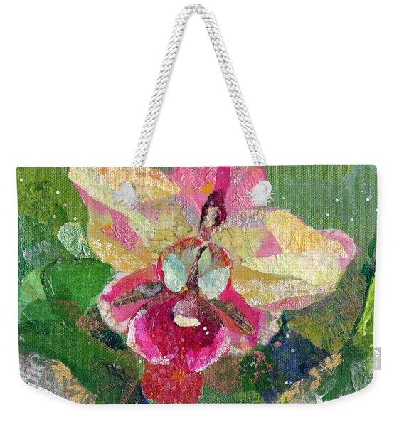 Dancing Orchid I Weekender Tote Bag