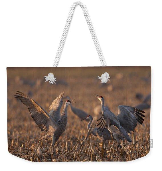 Dancing Sandhills Weekender Tote Bag