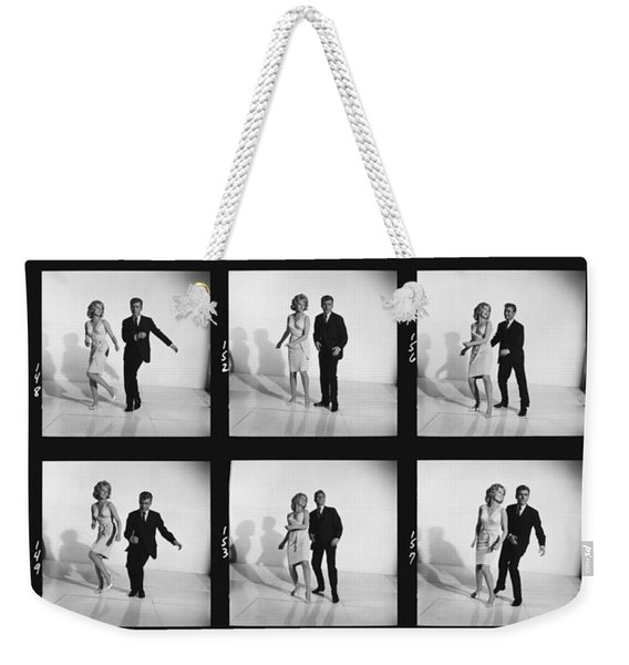 Dancing The Twist Weekender Tote Bag