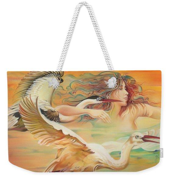 Dancing With Birds Weekender Tote Bag