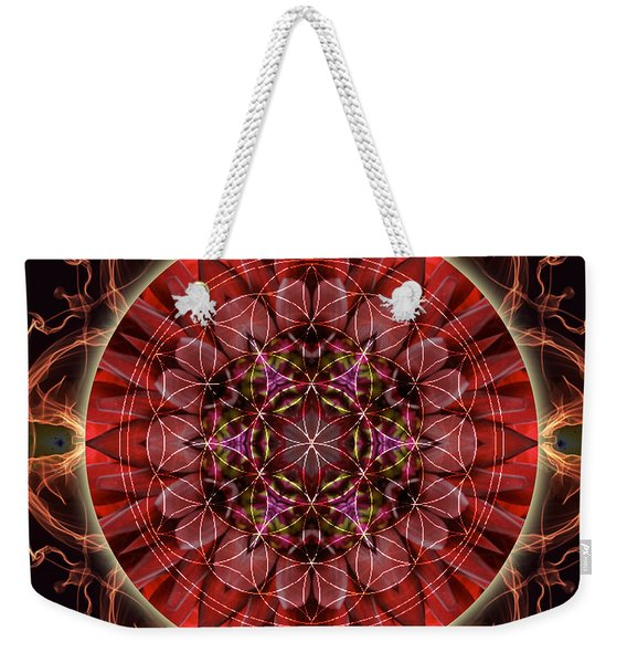 Dancing With The Solar Flares Weekender Tote Bag