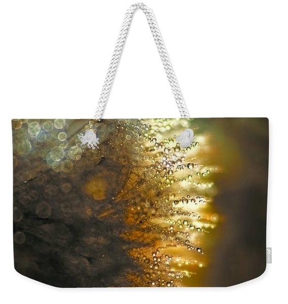 Dandelion Shine Weekender Tote Bag
