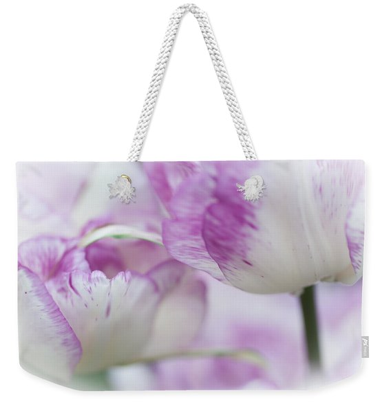 Dappled Tulips. The Tulips Of Holland Weekender Tote Bag
