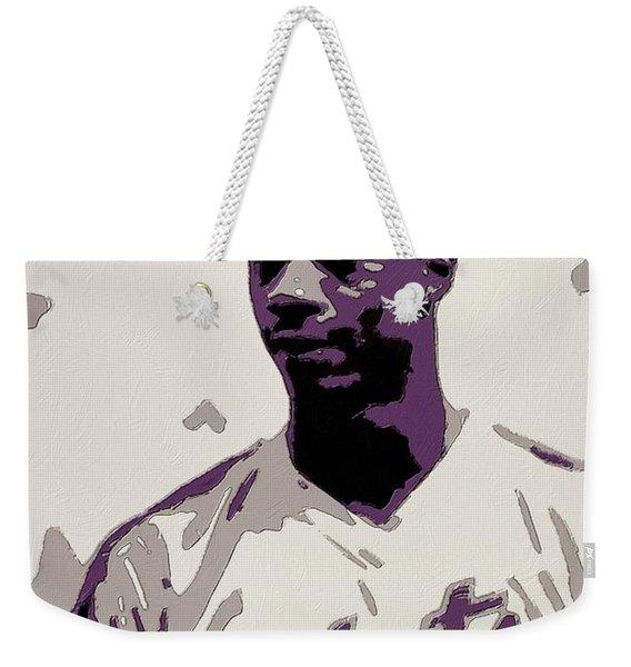 Darryl Strawberry Poster Art Weekender Tote Bag