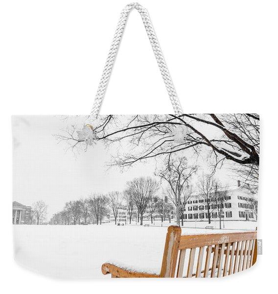 Dartmouth Winter Wonderland Weekender Tote Bag
