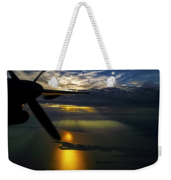 Dash Of Sunset Weekender Tote Bag