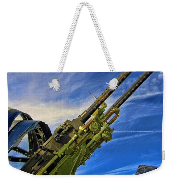 Dauntless Tail Gun Weekender Tote Bag