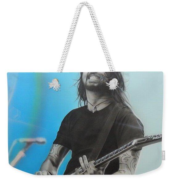 Dave Grohl Weekender Tote Bag