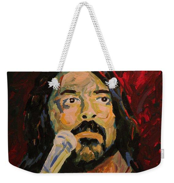 Dave Grohl Portrait Weekender Tote Bag