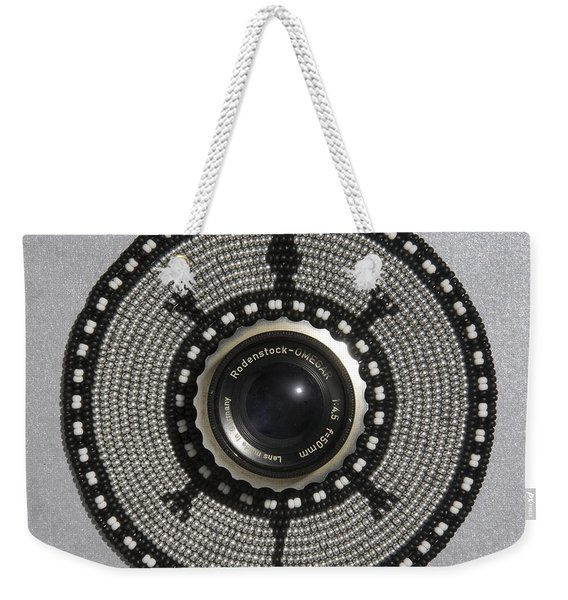 Camera Lens Weekender Tote Bag