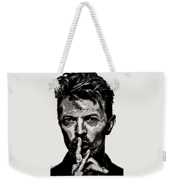 David Bowie - Pencil Weekender Tote Bag