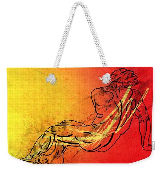 David Weekender Tote Bag