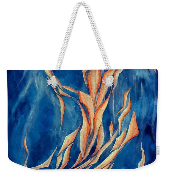 David's Angel Weekender Tote Bag