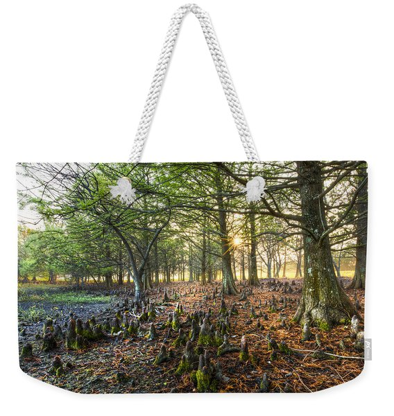Dawn At Grassy Waters Weekender Tote Bag