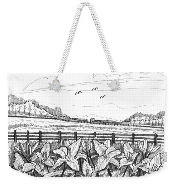 Day Lilies At Northwind Farms Weekender Tote Bag