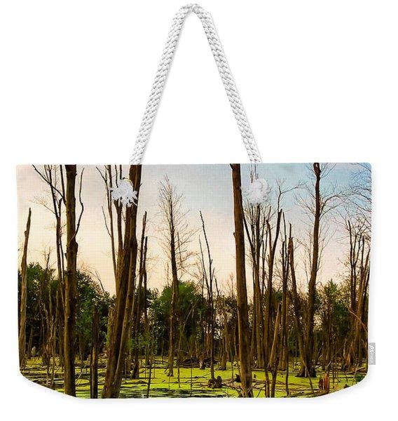 Daylight In The Swamp Weekender Tote Bag