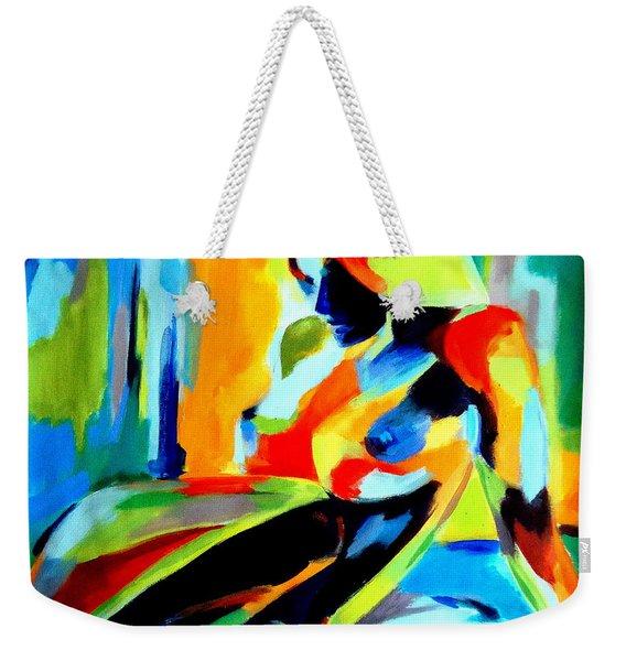 Dazzling Light Weekender Tote Bag